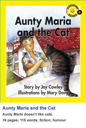 Aunty Maria and the Cat